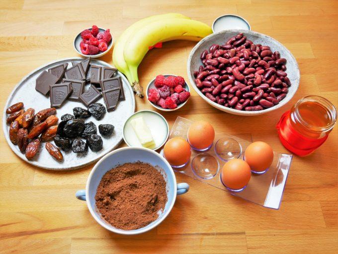 brownie z fasoli składniki